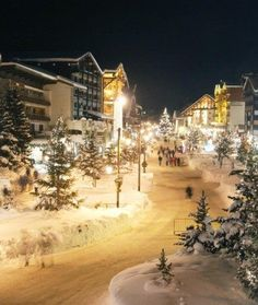 Val d'Isere in the French Alps