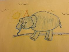 Student-Created @Snapguide How to Draw a Cartoon Elephant