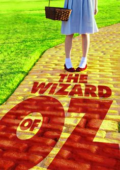 Book Cover Redesign // Movie Friday: 14 'The Wizard of Oz' Alternative Movie Posters