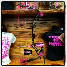 Just for Does bow- by Athens. I WANT this!!!   If only I could bow hunt lol! style, bow hunting girl, athen, bows, thing