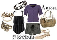sleeping beauty, style, aurora, disney clothes, inspired outfits, disneybound, disney bound, disney inspir, disney fashion