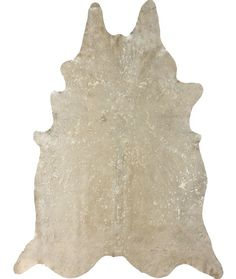 Rugs USA Serendipity Devour Cowhide White Rug - sparkle cowhide..hello!