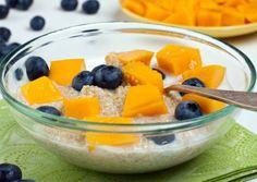 Clean Energy Breakfast - Quinoa Swirled with Almond Milk
