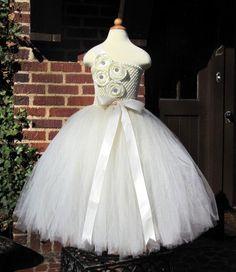 The Brianna  Flower Girl  Dress