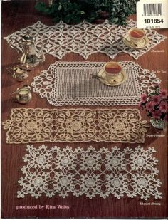 Crochet Table Runners ASN 1169