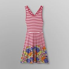 Dream Out Loud by Selena Gomez Junior's Striped Dress