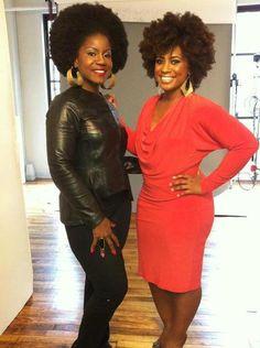 Fabulous Curl Friends. Fierce!!