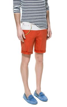 COMBINATION BERMUDAS from Zara