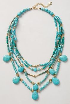Turquoise strands