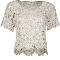 FULL TILT Womens Crochet Crop Top 188706151 | tops | Tillys.com