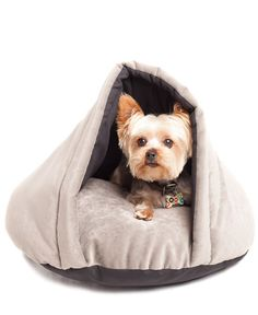 cozy pet bed - my critters would love this!