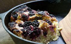 blackberry skillet cake - glutton for life