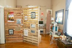 Making a room divider with DIY