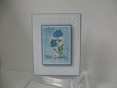 Sympathy by 24-7stamper - Cards and Paper Crafts at Splitcoaststampers