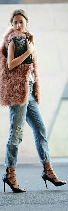 . shoes, street chiclov, jeans, fur, cuf jean