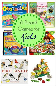 6 Must-Own 'Board' Games for Kids~ Buggy and Buddy