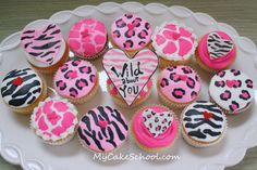 Wild About YOU~ A Cupcake Tutorial