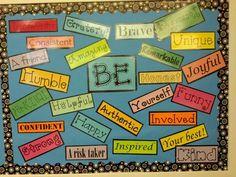 6th grade classroom management | 6th grade BE board | School Stuff