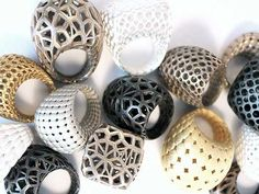 rom monomer, a 3D printed ring collection named according to Greek mythology; ring forms for female figures and patterns for male deities.
