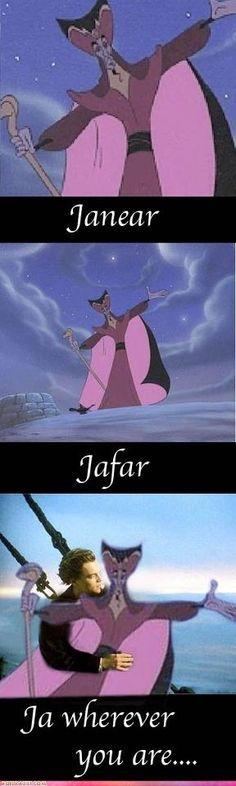 jafar from aladdin says hello