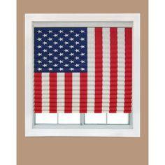American Flag Window Shade #homedepot