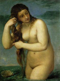Venus Anadyomene // Tiziano Vecellio // 1485-1576
