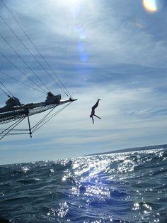 Into the blue    #sea