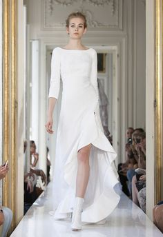 Wedding dress from the Delphine Manivet 2013 bridal collection | junebugweddings.com  #wedding #design