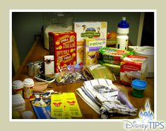 Disney Travel Tips - How I Save Money On Food at Disneyland and WDW