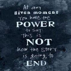 Write your story!