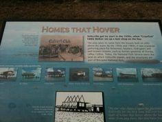 -Stiltsville Information Sign