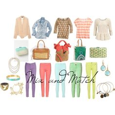 Mix and Match, created by sbozarth on Polyvore