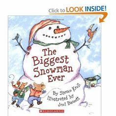 Ms. Kerri and her Krazy Kindergarten: Snowman week and a giveaway