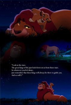Favorite quote! My dad loved the lion king and this just resembles him. I love it