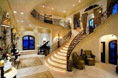 foyers, heart, dreams, stairway, dream homes, luxury houses, princesses, dream houses, design
