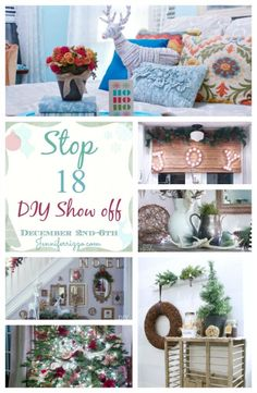 DIYShowOff Christmas Home Tour 2013