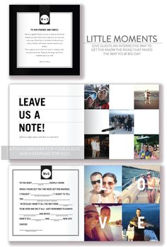 Shutterfly Photo Guestbooks + Pin-it to Win-it Sweepstakes!  Read more - www.stylemepretty...