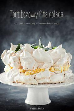 Pina Colada Meringue Cake
