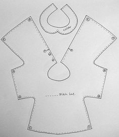 Free dress/coat tutorial