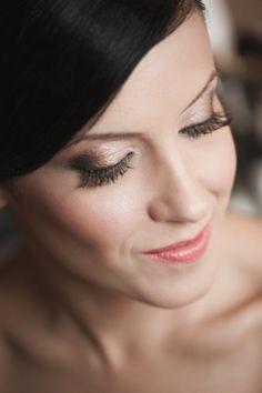 Portrait eye makeup, bridal makeup, wedding makeup, bride, hair