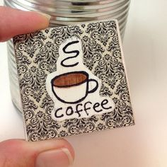 Coffee Magnet Upcycl