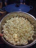 Dutch Oven Popcorn- shut the front door!!