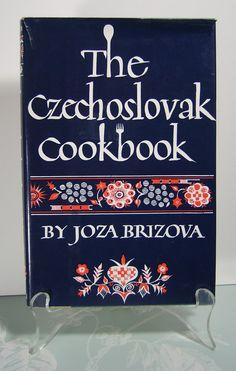 THE CZECHOSLOVAK COOKBOOK  1965 c  Very Good by BunnysLuck on Etsy, $10.00