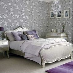 SILVER (images we like, not products of Chichi) Silver painted bed