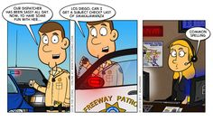 10-8 The Comic: Fun With Dispatch 10-8 The Comic focuses on the lighter side of police work and the often hilarious encounters that patrol o... crazi 911, police humor, ninja dispatch, dispatch life, work911 dispatch, cop stuff, public safeti