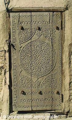 door Khiva, Uzbekistan by jezingham, via Flickr