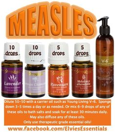 Measles Recipe: 10 d