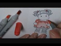 Copic Tutorial #2 Colorless Blender