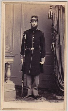 Civil War soldier from California