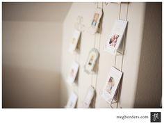 plate holder, blank wall, offic inspir, studios, plate rack, card displays, announc display, offic idea, studio idea